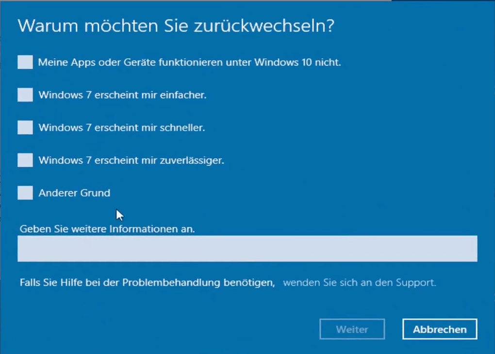 problembehandlung windows 10 update